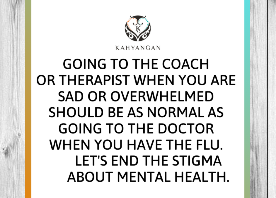 Let's End The Stigma About Mental Health